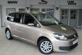 2013 13 VOLKSWAGEN TOURAN 1.6 SE TDI BLUEMOTION TECHNOLOGY 5D 103 BHP DIESEL