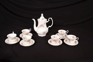 "Royal Albert Bone China ""Moss Rose"" *Price Reduced*"