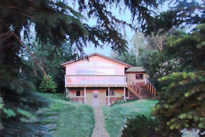 Lake Front Home For Sale on Almost One Half Acre