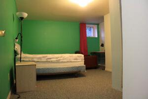 One Large Bedroom: Ottawa University, Sandy Hill, Sept. 1st