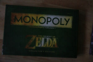 Nightmare Before Christmas + Legend Of Zelda Monopoly