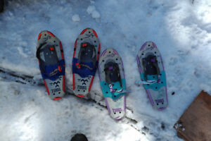 Childrens snow shoes