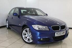 2010 59 BMW 3 SERIES 2.0 318D M SPORT 4DR 141 BHP DIESEL