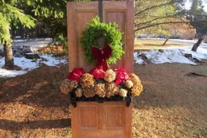 Antique Garden Door Planter