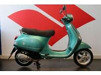 2013 13 PIAGGIO VESPA LX 125 TEAL, LOW MILEAGE!