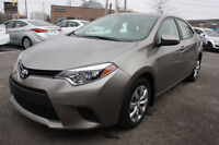 2014 Toyota Corolla 100%ACCIDENT FREE WITH BACK UP CAMERA Sedan