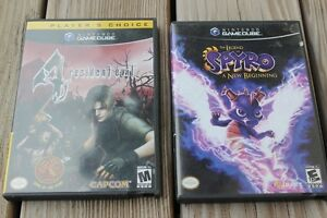 """2 GAME CUBE   GAMES   """"SPYRO""""       PLUS  ONE OTHER"""