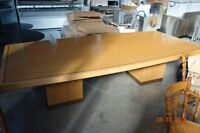 Boardroom Table and Credenza $250 OBO