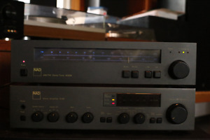 Nad 3140 integrated stereo amplifier, 4020a tuner