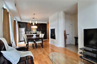 CONDO TOUS MEUBLE & EQUIPE LUXUEUX NEUF 2-3 CAC/FURNISHED UNIT Laval / North Shore Greater Montréal Preview
