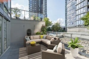 1 Bedroom with amazing Patio in Yaletown