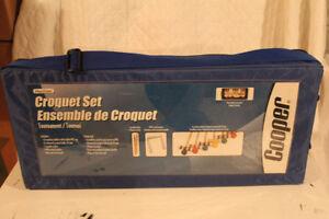 6 Player Sports Croquet Set