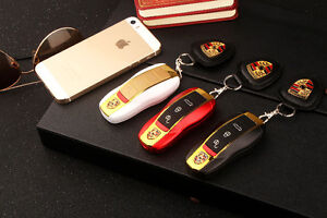 Porsche car key-chain unlocked mobile phone with 2 SIm for sale