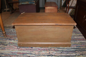 Old Blanket Box In Taupe Paint London Ontario image 1