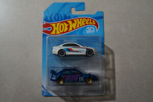 Hot Wheels Two Pack BMW M3 and Subaru Impreza WRX STI 1/64 JDM