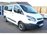 2013 FORD TOURNEO CUSTOM 300 TDCI 100 L1 H1 8 SEAT MINIBUS SWB LOW ROOF FWD MINI