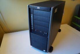 HP SERVER PROLIANT 2X XEON Xeon E5440 2.83GHz 8 CORE 200gb sas ssd 1TB HDD ,26GB Ram chia minning