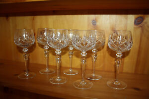 Beautiful Fine Crystal Glass Sets - Mint Condition