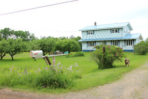 7.5 Acre Hobby Farm For Sale Near Wentworth, NS