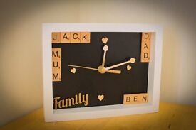 Personalised clock boxes