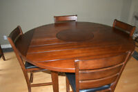 Casual Dining 9 Piece Counter Height Dining Set