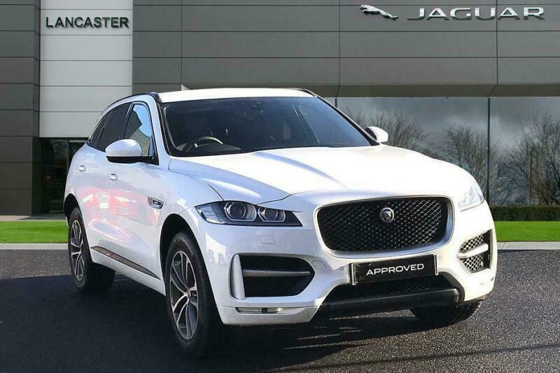 2019 Jaguar F Pace R Sport Awd Diesel White Automatic In Sevenoaks Kent Gumtree