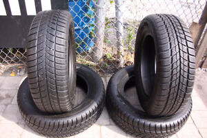 4 P195/65 R15 Polaris Barum**WINTER*USED TIRES