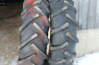 Farm tractor tires and tubes size 14.9x24