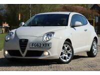2012 Alfa Romeo MiTo 1.4 TB MULTIAIR SPRINT 3d 105 BHP Hatchback Petrol Manual