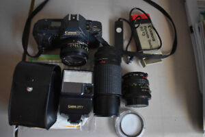 Canon T70 35mm SLR camera outfit for sale