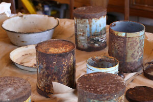 Antique Collectible Cans Cambridge Kitchener Area image 4