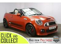 2012 12 MINI ROADSTER 1.6 JOHN COOPER WORKS CHILI PACK 2DR 208 BHP