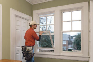 Vinyl WINDOWS and entry DOORS REPLACEMENT - FALL SALE
