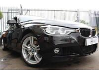 2016 16 BMW 3 SERIES 3.0 335D XDRIVE M SPORT 4D AUTO-1 OWNER-BLACK DAKOTA LEATHE