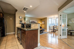 Beautiful one bedroom condo with Bedford Basin views