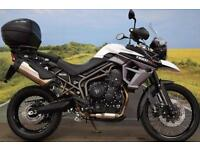 Triumph Tiger 800XC **Top Box, ABS, WP Suspension**