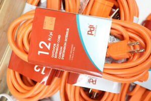 PDI 12 Foot Outdoor Extension Cord (#2048)
