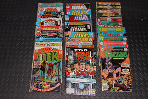 DC Comic lot – 1960s, 70s and 80s (38 issues) – Lot de 38 BD DC