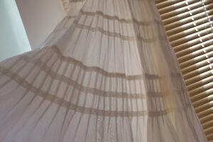 Anthropologie Maeve Tiered Lace Peasant Dress-0-Ivory Cream-EUC Edmonton Edmonton Area image 4