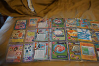 Lots of 60 pieces of Late 1990's POKEMON CARDS!50cents each!