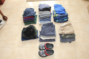 Size 8 Lot of Boys Summer Clothes for Sale