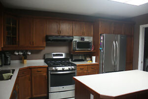 Complete Oak Kitchen Cabinets London Ontario image 2