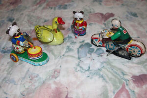 Vintage Chinese Tin WindupToys