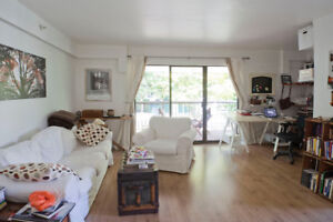 Beautifully Bright, Quiet and Spacious 1 BR+Den Apartment