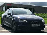 2018 Audi A3 Saloon Black Edition 2.0 TFSI quattro 310 PS S tronic Auto Saloon P