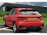 2020 Audi A1 Sportback S line 30 TFSI 116 PS 6-speed Hatchback Petrol Manual