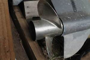 """Quicksilver 10-3/8""""x13 stainless steel prop Veresdale Scrub Ipswich South Preview"""