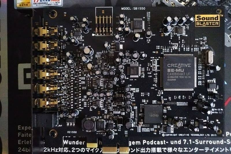 sound blaster audigy rx pcie driver