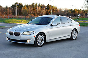 REDUCED - 2011 BMW 5-Series 535i xDrive Sedan - ONLY 87,800 KM
