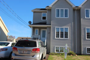 3 bedroom semi with detached garage in north end